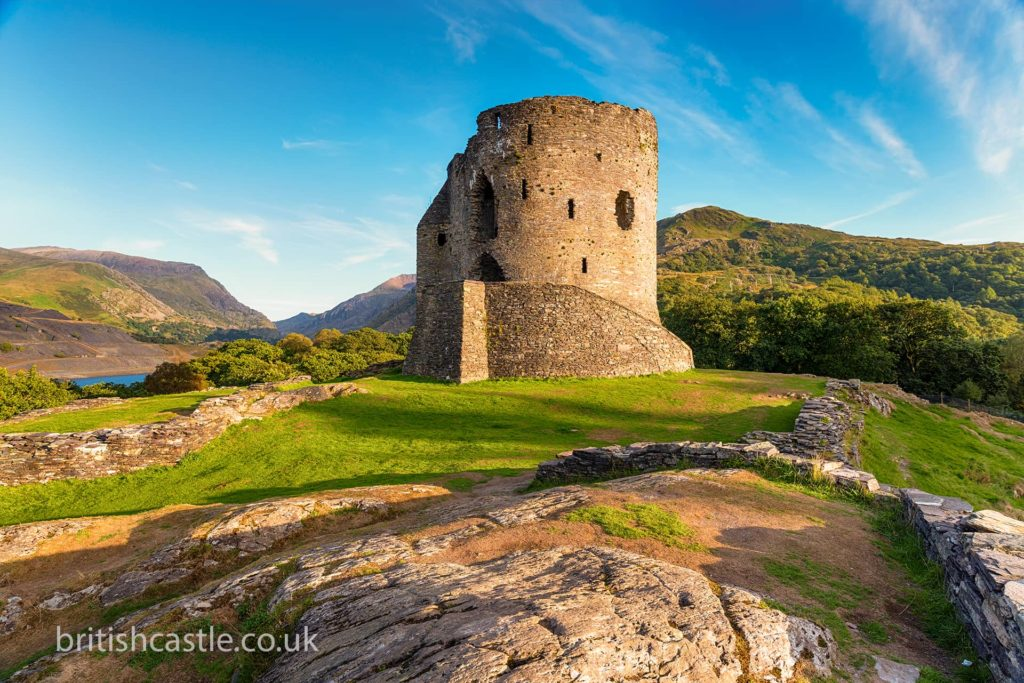 Welcome to Dolbadarn Castle (or what's left of it)