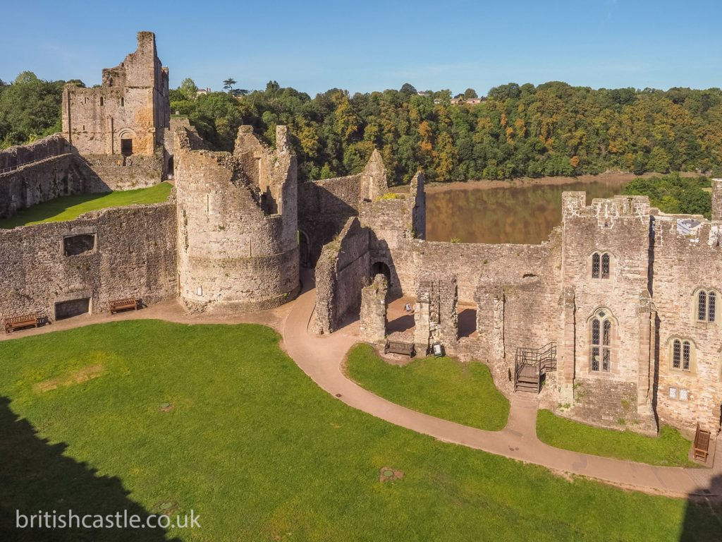ruins of Chepstow castle